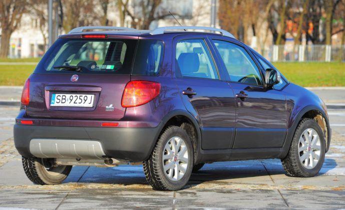 Fiat Sedici - tył