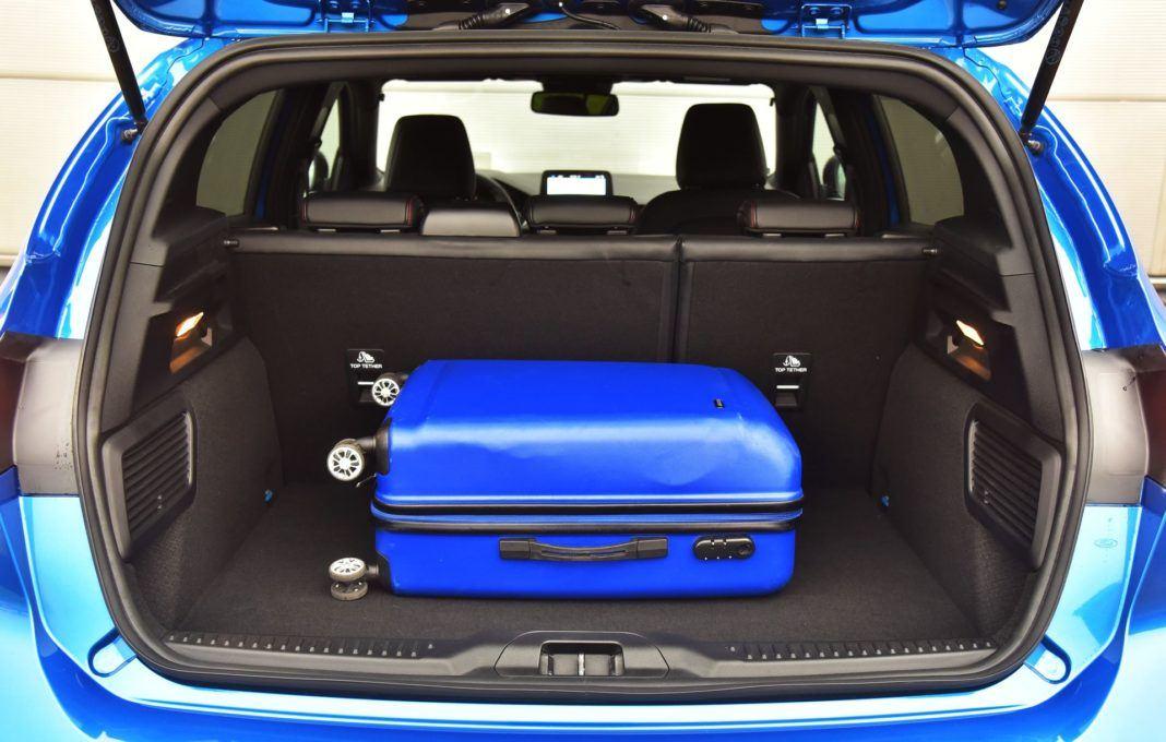 Ford Focus IV - bagażnik
