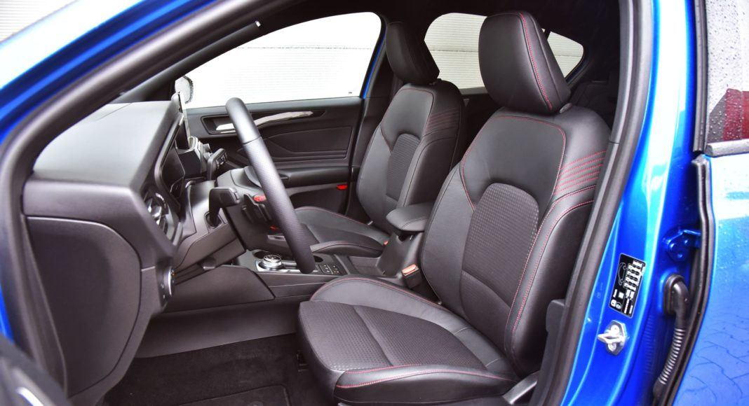 Ford Focus IV - fotel kierowcy