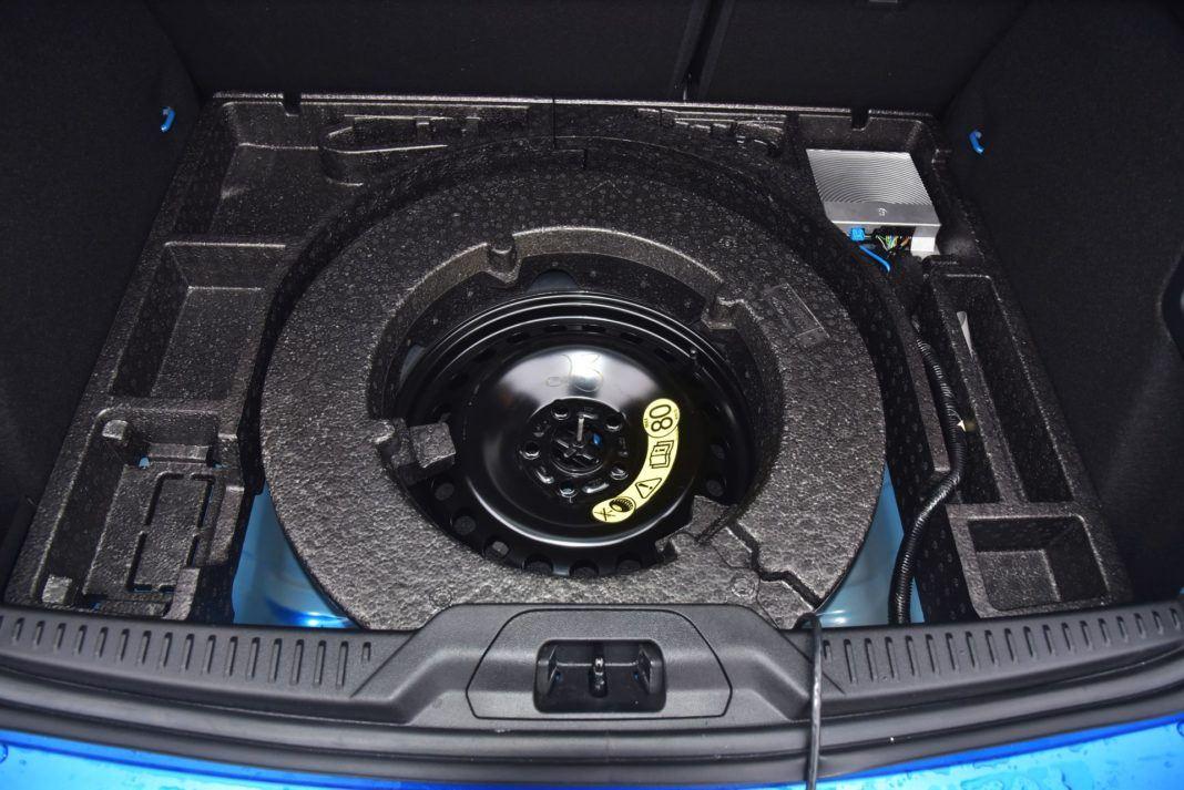 Ford Focus IV - koło dojazdowe
