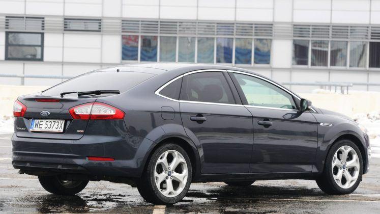 Ford Mondeo IV - tył