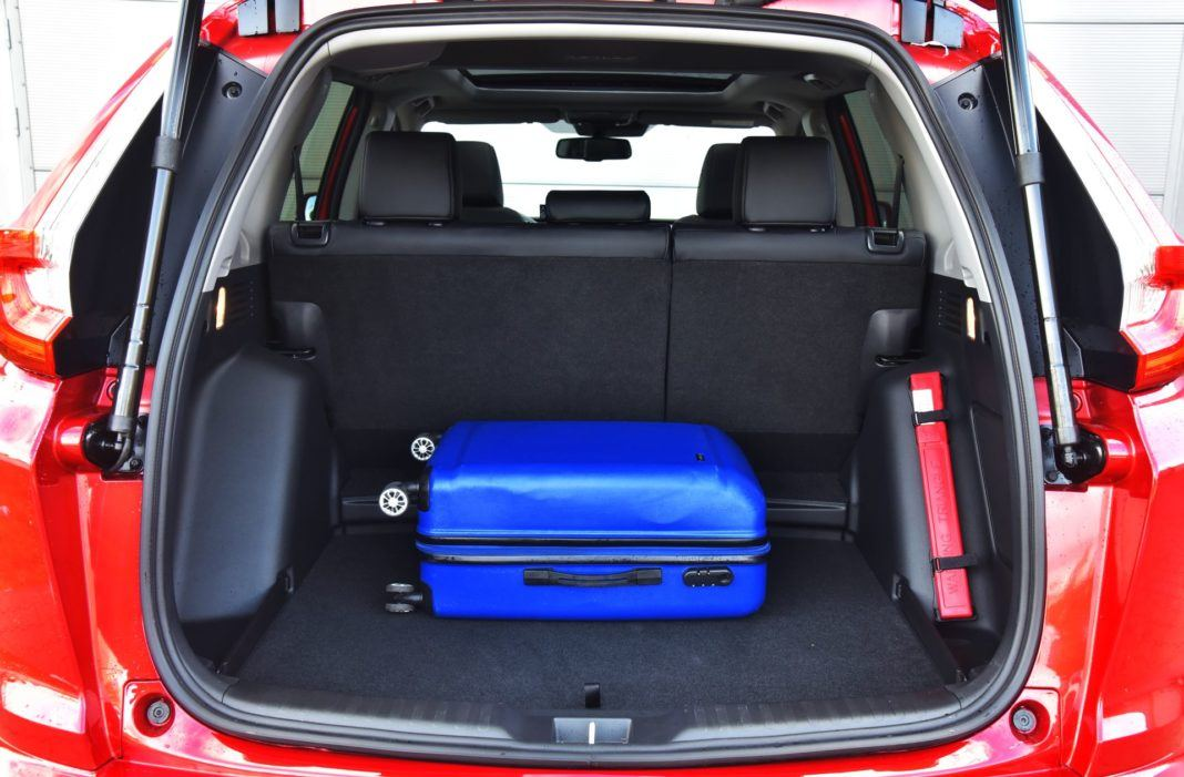 Honda CR-V V - bagażnik