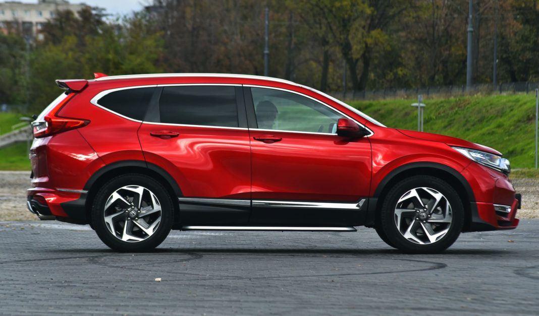 Honda CR-V V - bok