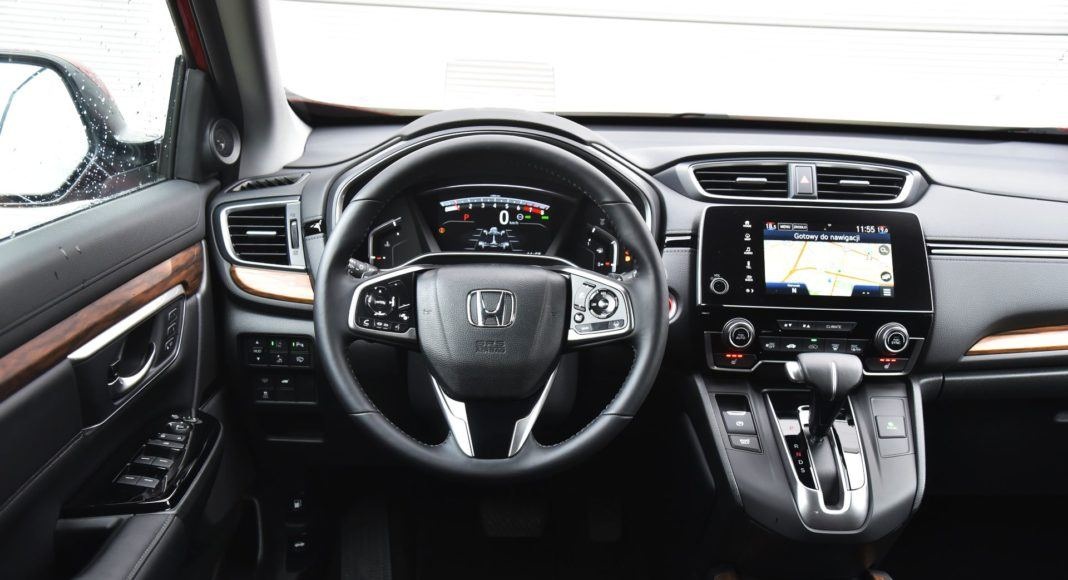 Honda CR-V V - deska rozdzielcza
