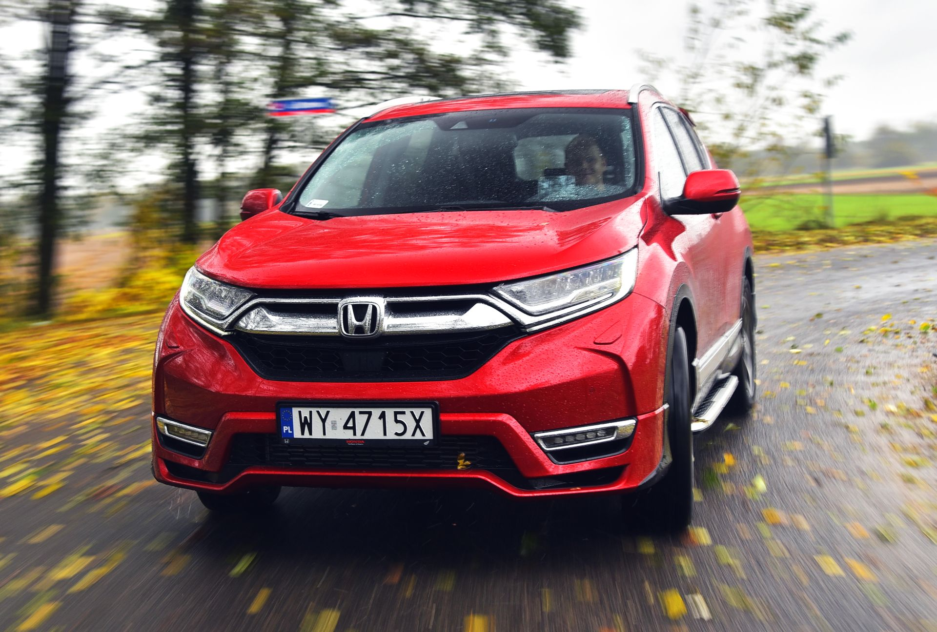 Honda CR-V V - dynamiczne