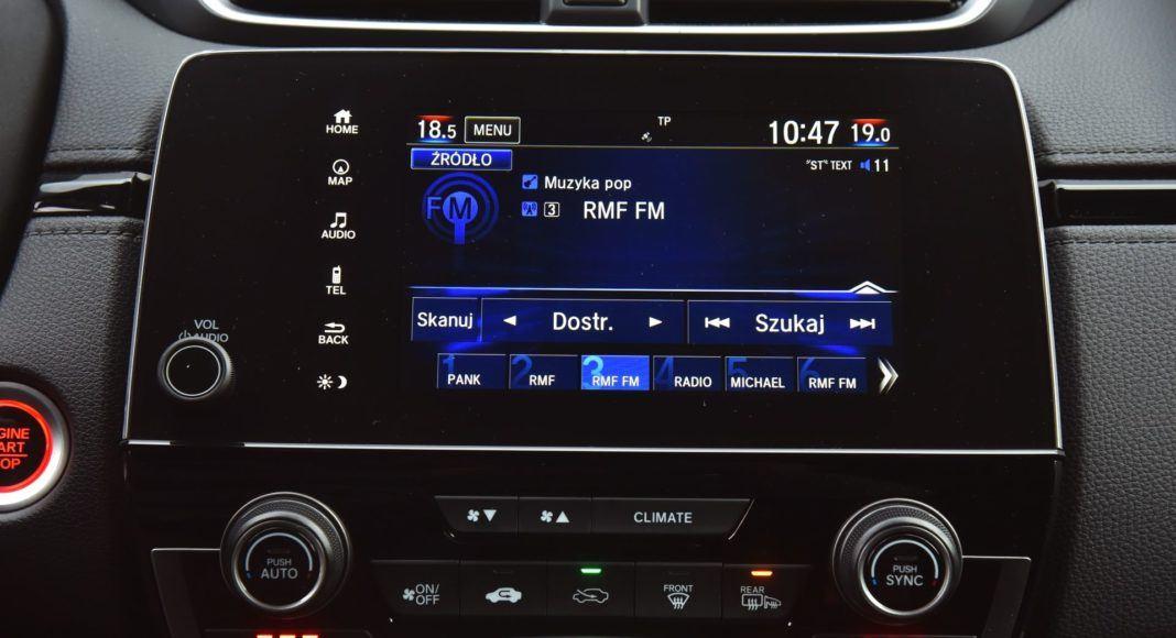Honda CR-V V - ekran