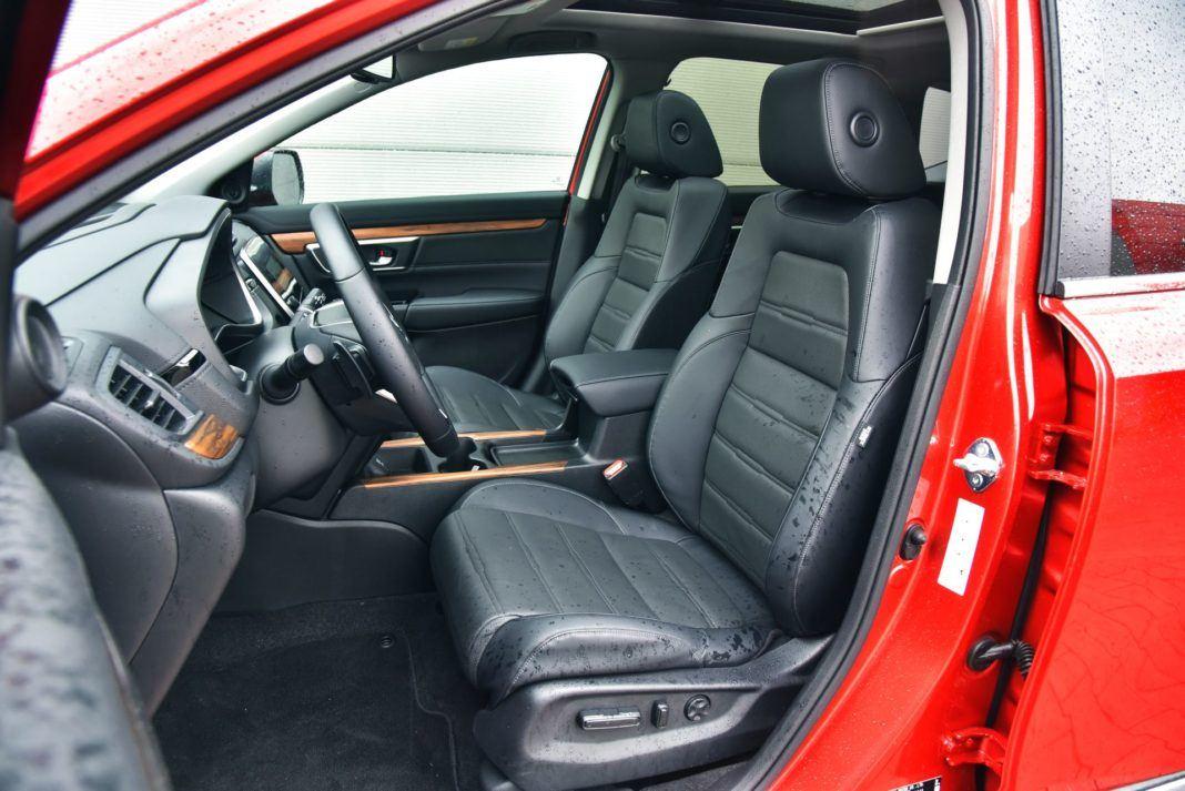 Honda CR-V V - fotel kierowcy