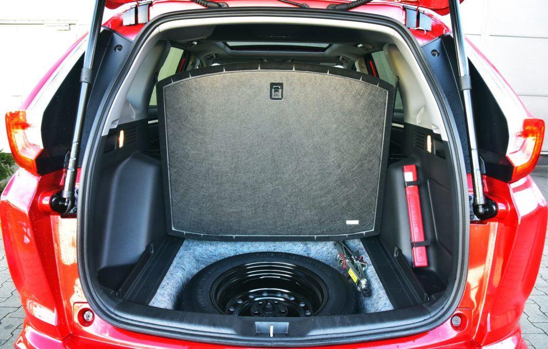Honda CR-V V - koło zapasowe