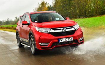 Honda CR-V V - otwierające
