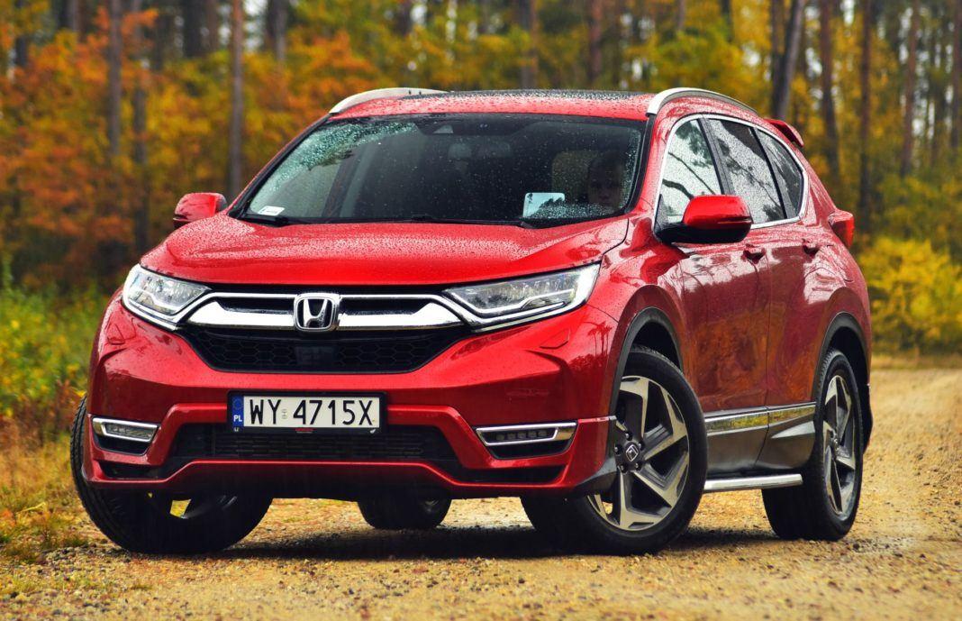 Honda CR-V V - przód