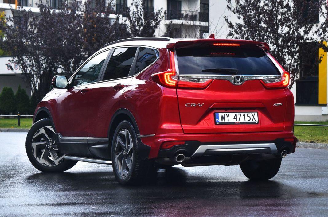Honda CR-V V - tył