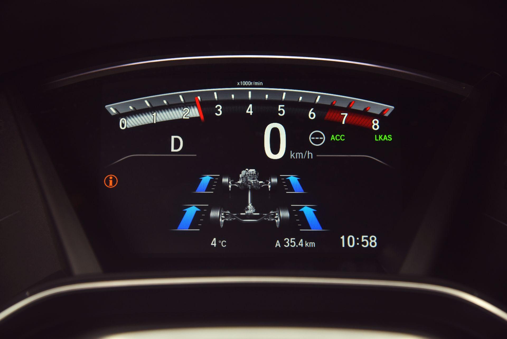 Honda CR-V V - zegary