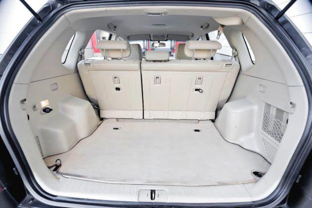 Hyundai Tucson I - bagażnik