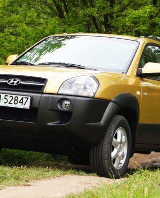 Hyundai Tucson I - otwierające