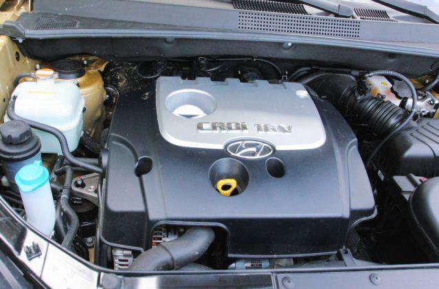 Hyundai Tucson I - silnik
