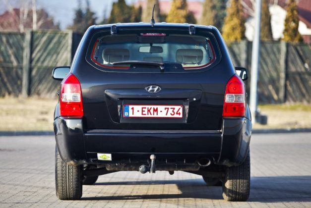 Hyundai Tucson I - tył