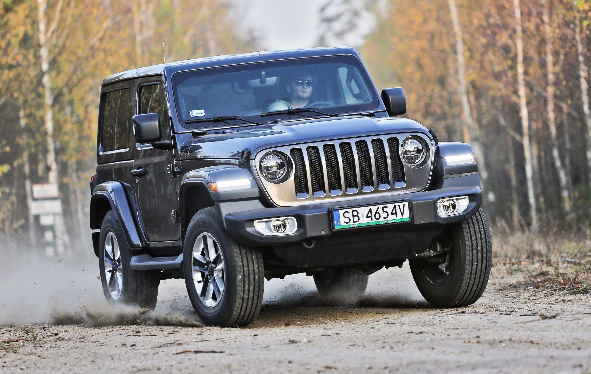 Jeep Wrangler Sahara - dynamiczne