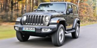 Jeep Wrangler Sahara - otwierające