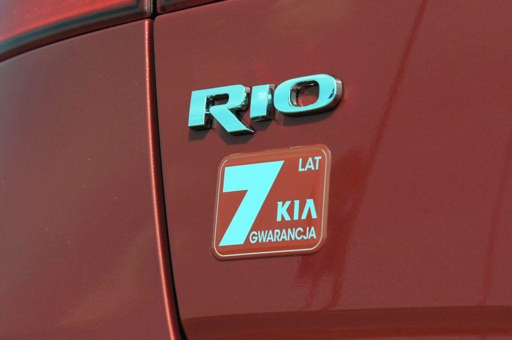 Kia Rio III - gwarancja