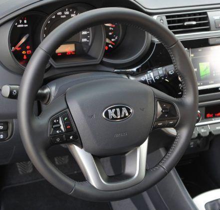 Kia Rio III - kierownica