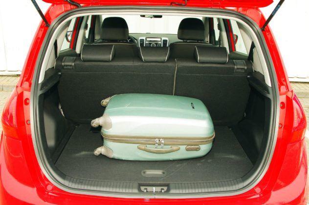 Kia Venga - bagażnik