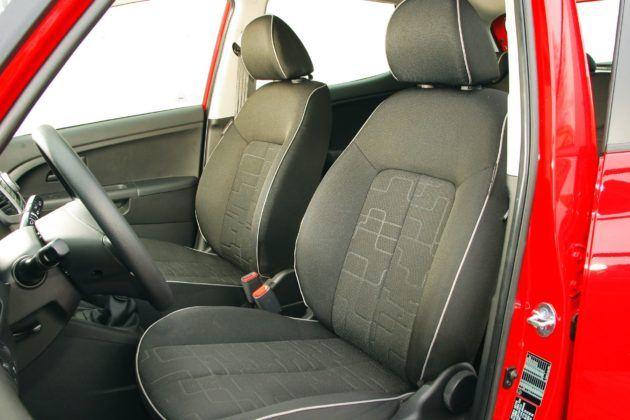 Kia Venga - fotel kierowcy