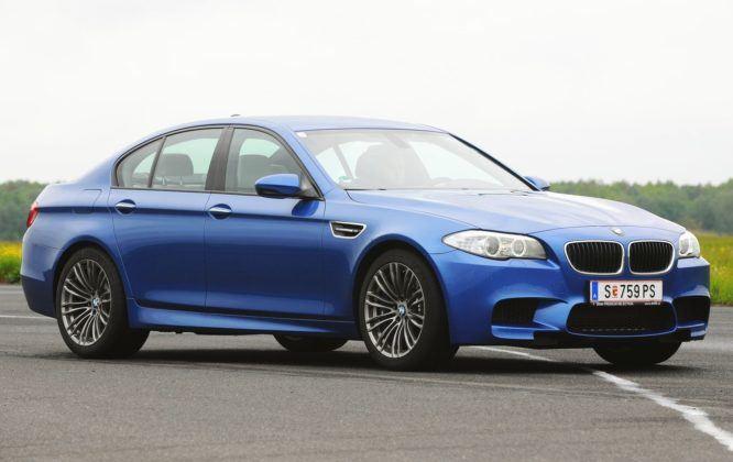 Klasa wyższa - najgorszy - BMW M5