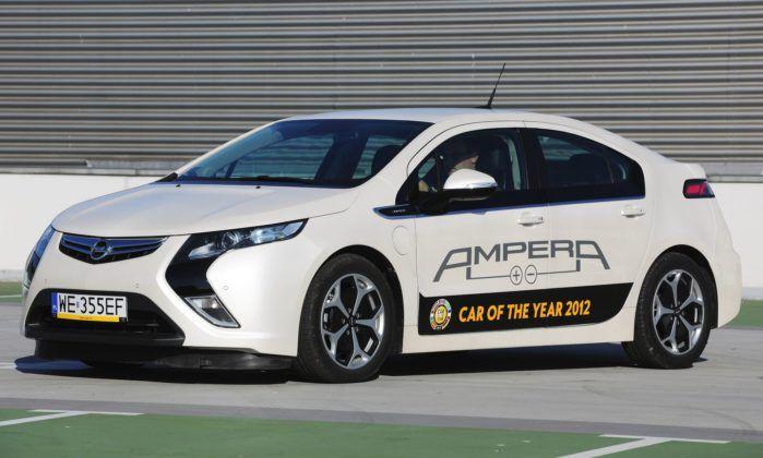 Kompakty - najlepszy - Opel Ampera