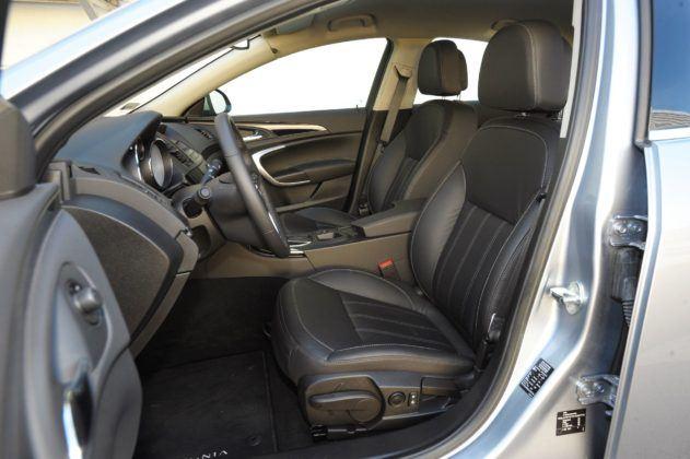 Opel Insignia A - fotel kierowcy