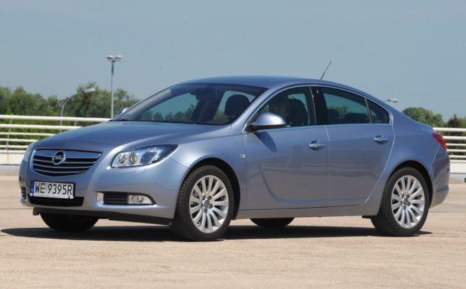 Opel Insignia A - przód