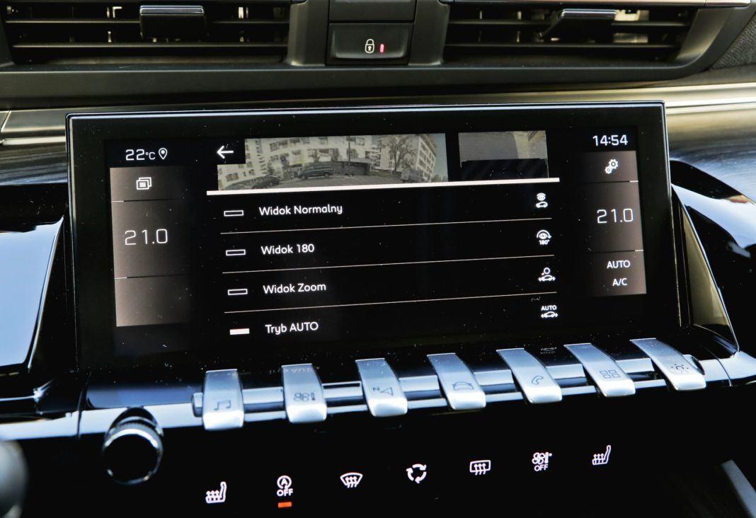 Peugeot 508 - klimatyzacja