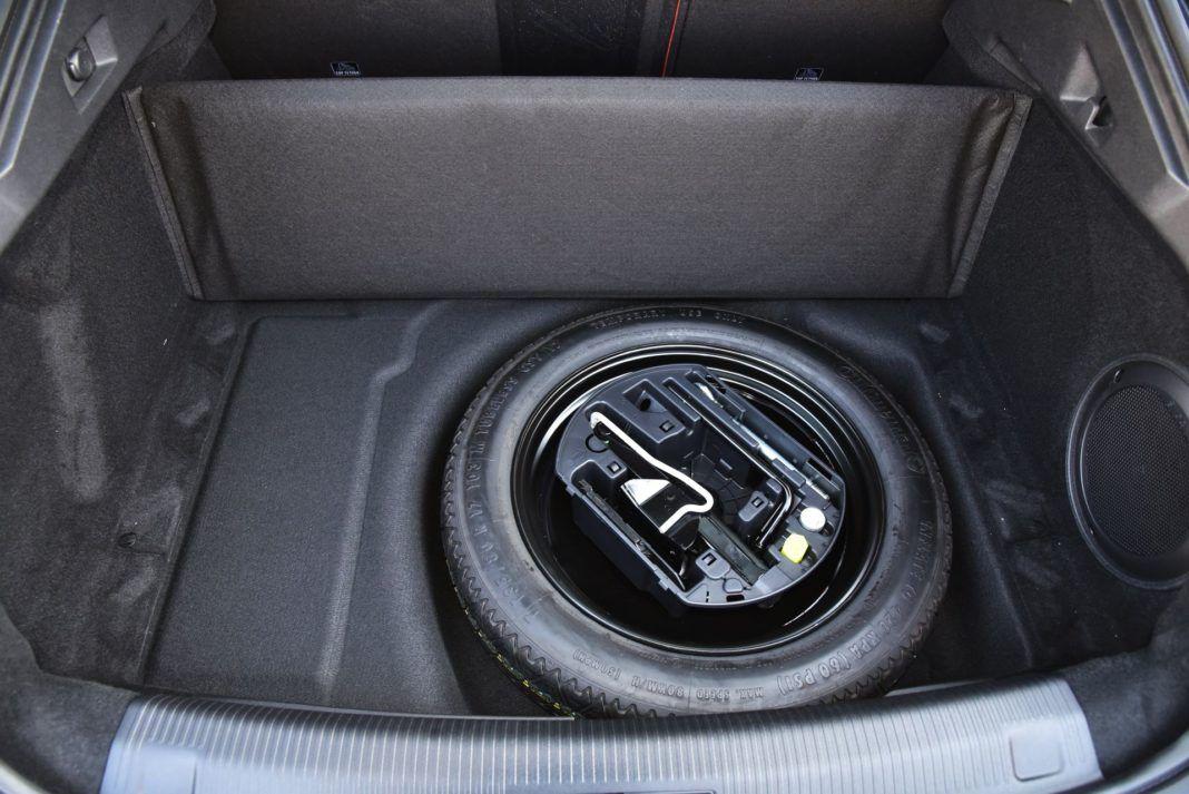Peugeot 508 - koło zapasowe
