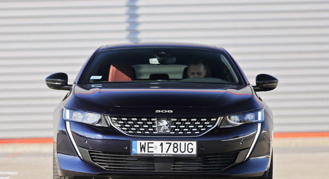 Peugeot 508 - przód