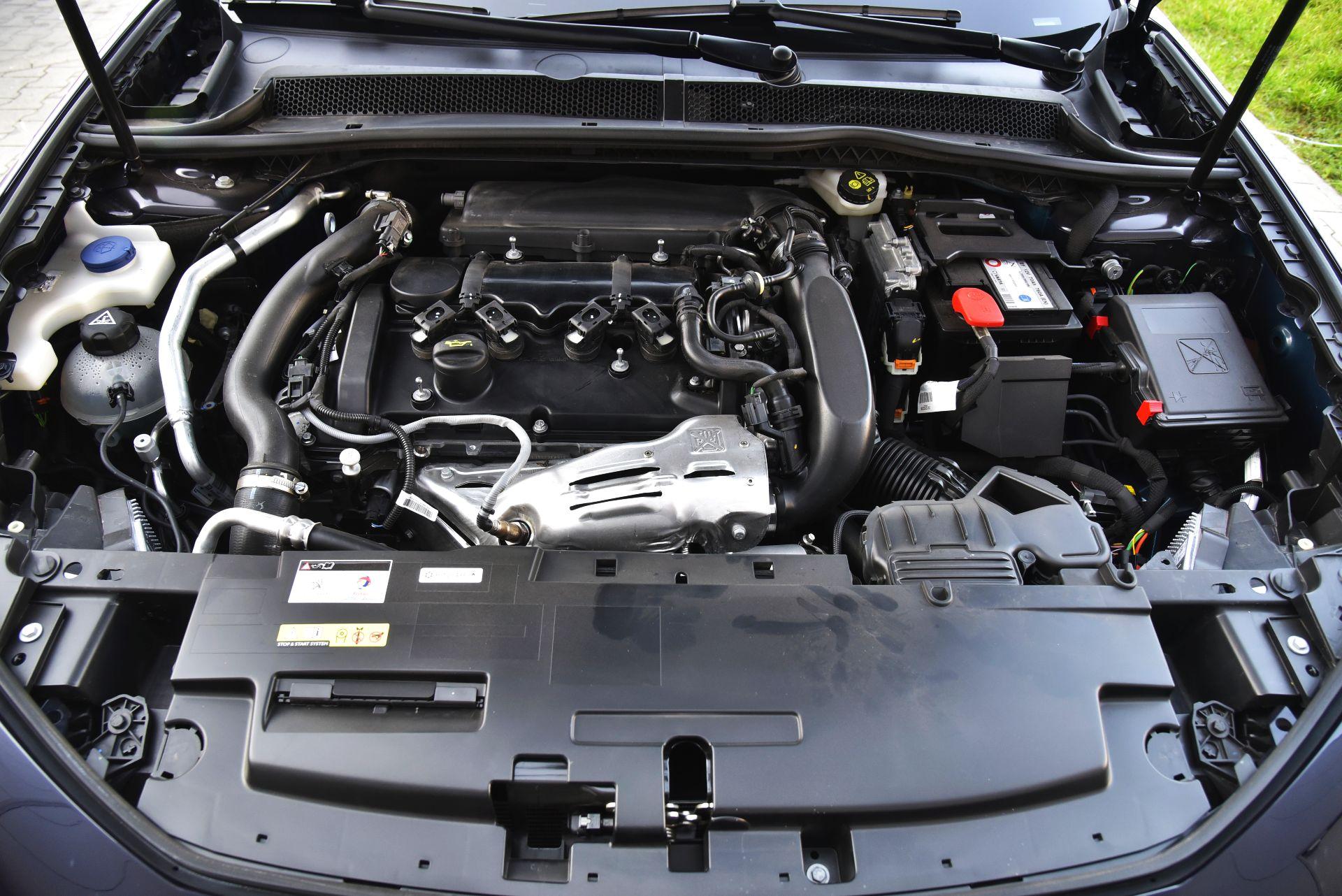 Peugeot 508 - silnik