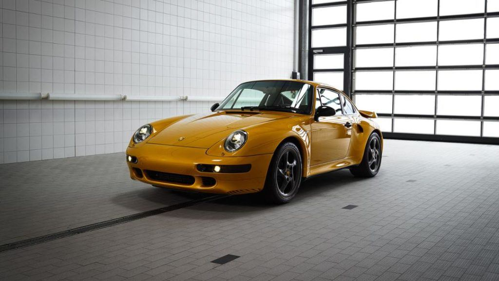 "Porsche 911 Turbo S (993) ""Projekt Gold"""