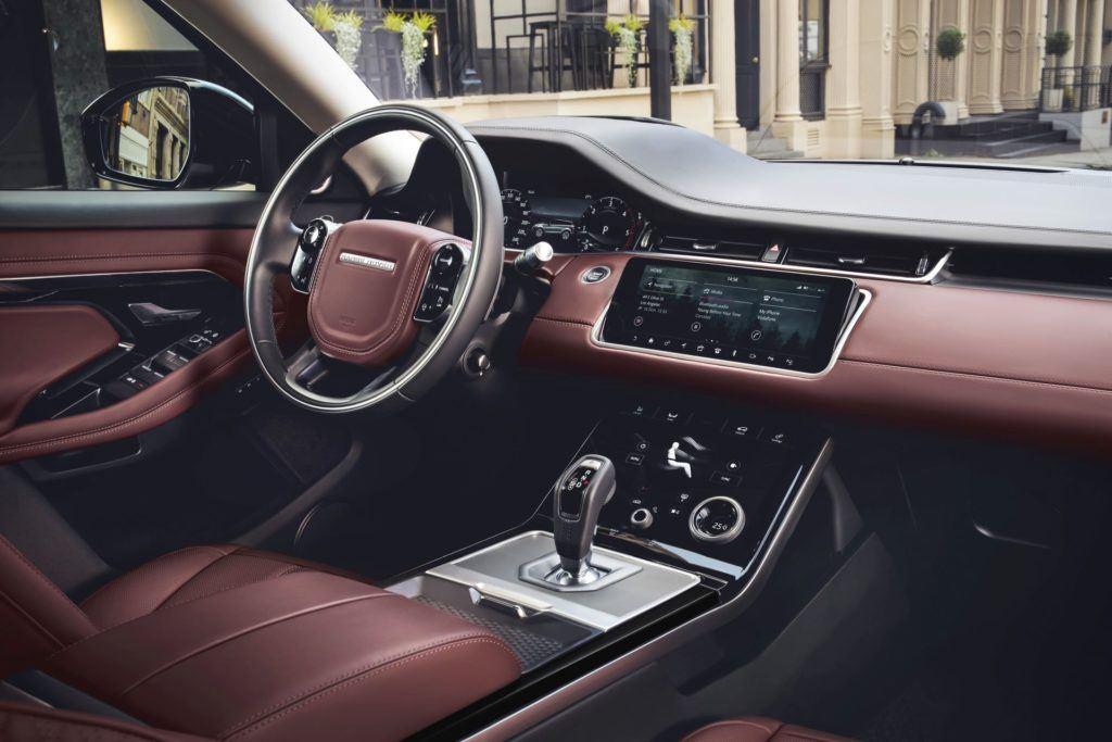 Range Rover Evoque - deska rozdzielcza