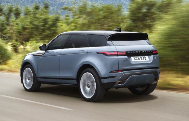Range Rover Evoque - dynamiczne (2)