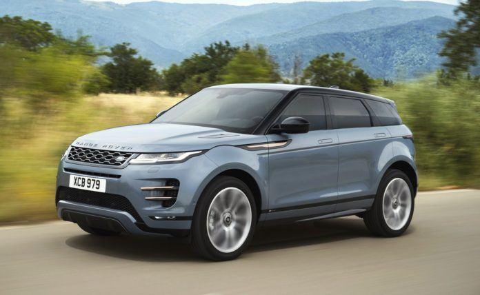Range Rover Evoque - dynamiczne