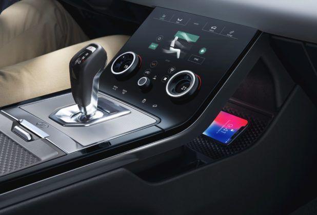 Range Rover Evoque - konsola środkowa