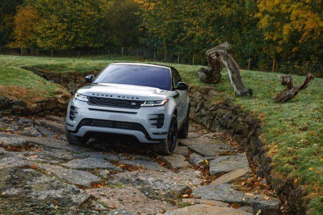 Range Rover Evoque - przód (2)