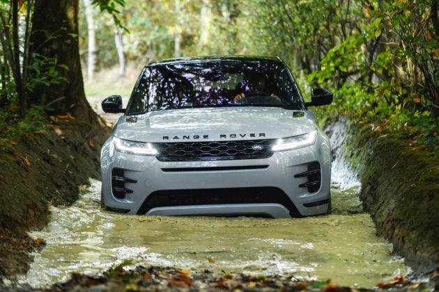 Range Rover Evoque - przód