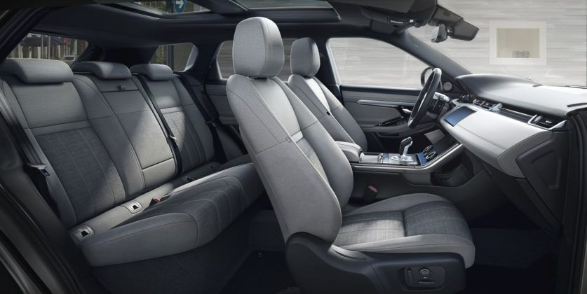 Range Rover Evoque - wnętrze