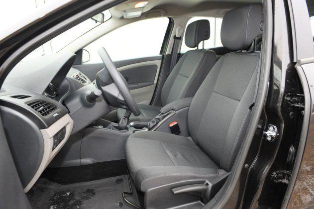 Renault Megane III - fotel kierowcy