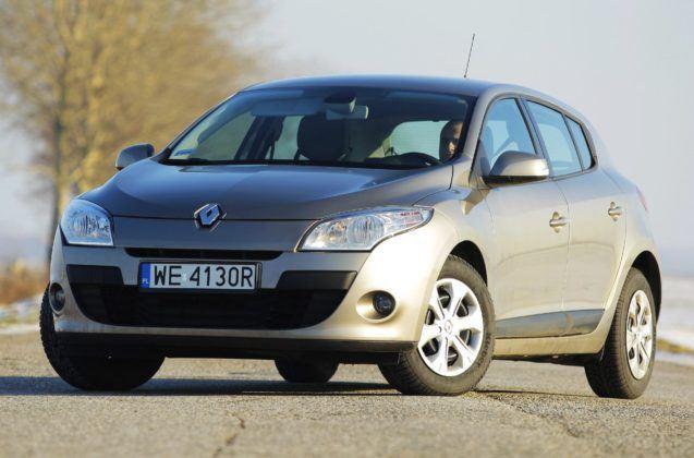 Renault Megane III - przód