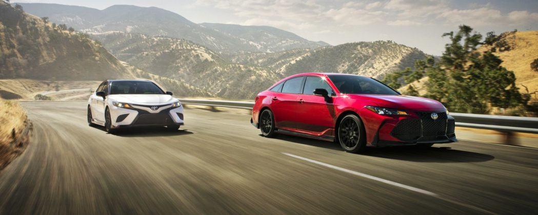 Toyota Avalon i Camry TRD