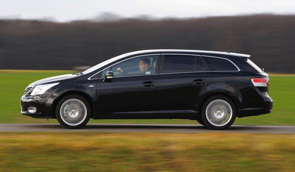 Toyota Avensis III - dynamiczne