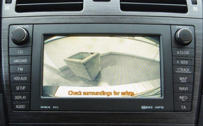 Toyota Avensis III - kamera cofania