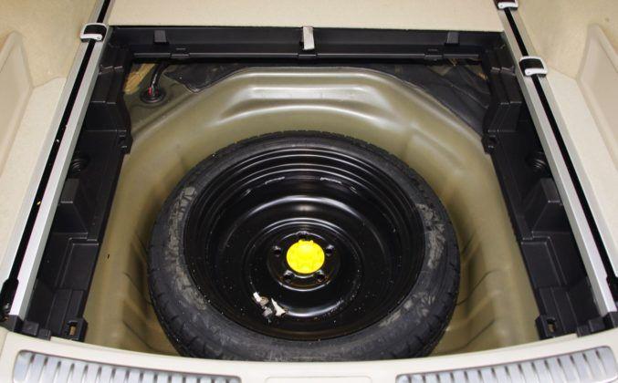 Toyota Avensis III - koło zapasowe