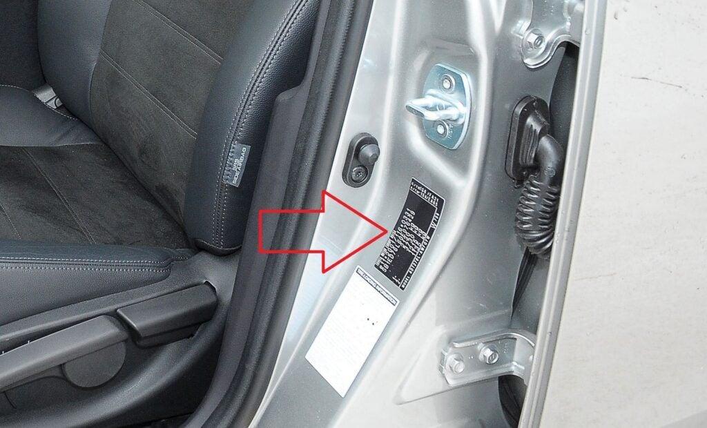 Toyota Avensis III numer VIN