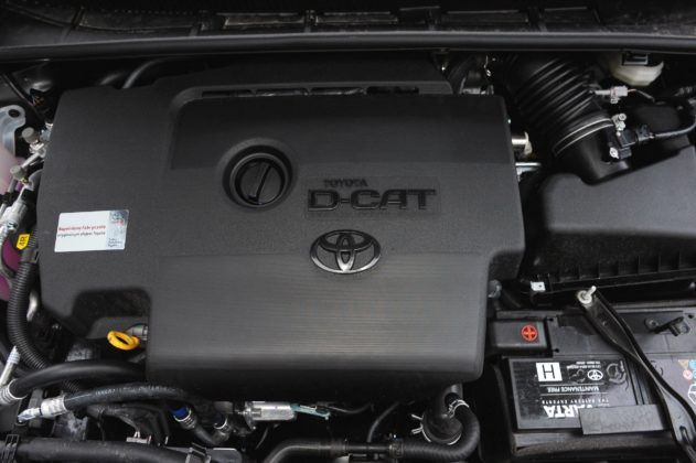 Toyota Avensis III - silnik D-CAT